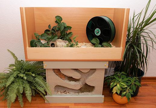 bauanleitung f r einen naturnahen hamsterbau. Black Bedroom Furniture Sets. Home Design Ideas